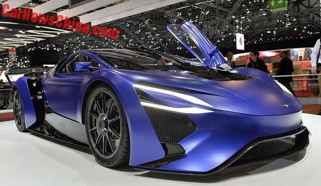 Meet the amazing Techrules GT96 hybrid supercar from China