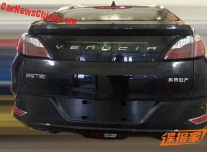 Spy Shots: Venucia T90 SUV for China