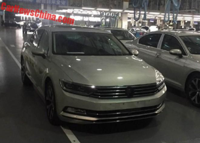 Spy Shots: new Volkswagen Magotan is Almost Ready for China