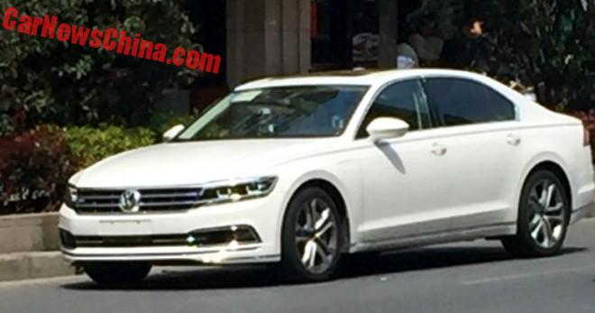 More Spy Shots of the Volkswagen Phideon for China