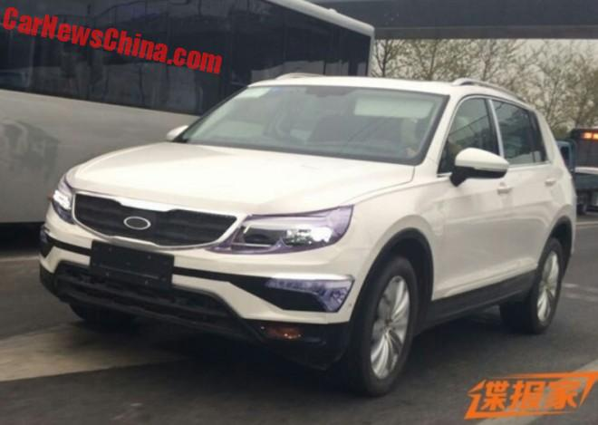 Spy Shots: new Volkswagen SUV for China