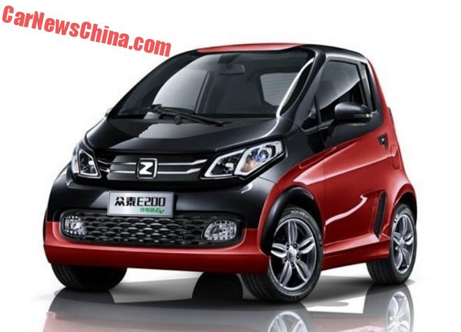 Zotye E200 EV will hit the Chinese market in April