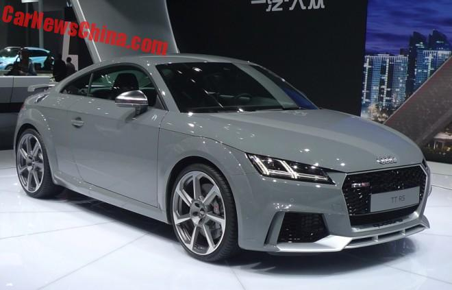Audi TT RS hits the Beijing Auto Show in China