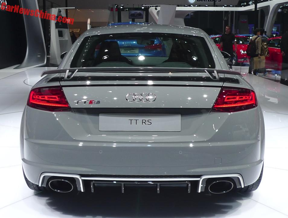 audi tt rs hits the beijing auto show in china. Black Bedroom Furniture Sets. Home Design Ideas