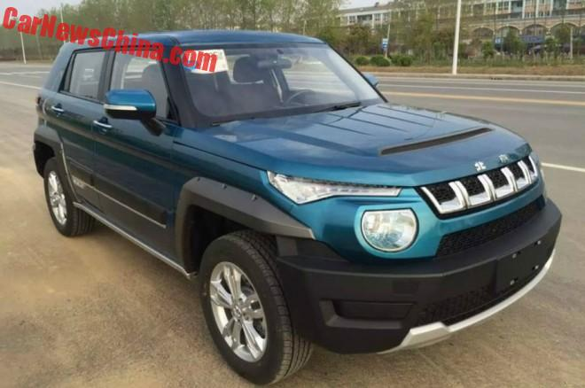 Spy Shots: the Beijing Auto BJ20 SUV is Ready for China