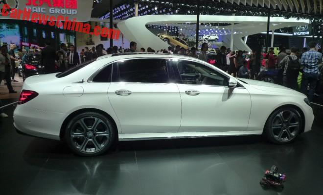 Mercedes-Benz E-Class L launched on the Beijing Auto Show