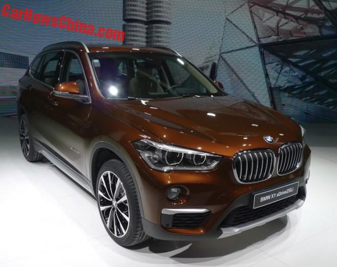 BMW X1 L1 hits the 2016 Beijing Auto Show
