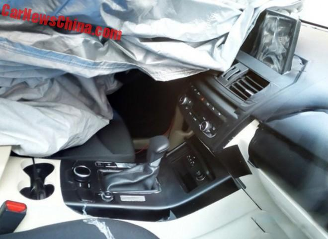 Spy Shots: the interior of the Borgward BX5 for China and a Disagreement