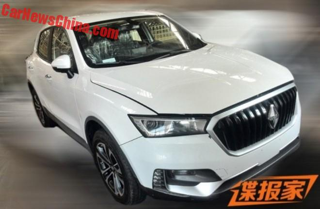Spy Shots: Borgward BX5 SUV seen testing in China
