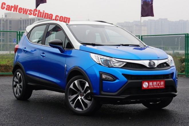 BYD Yuan launched on the Chinese car market