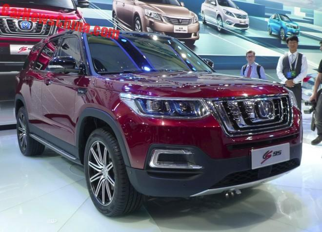 Changan CS95 SUV hits the Beijing Auto Show