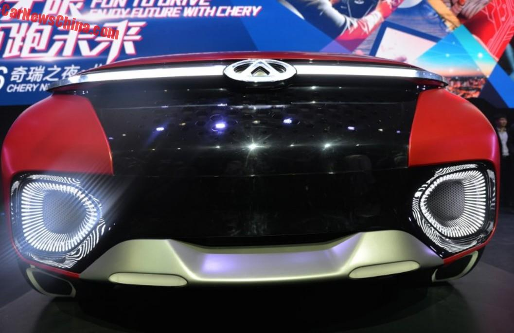 Chery FV2030 concept launched in China - CarNewsChina.com