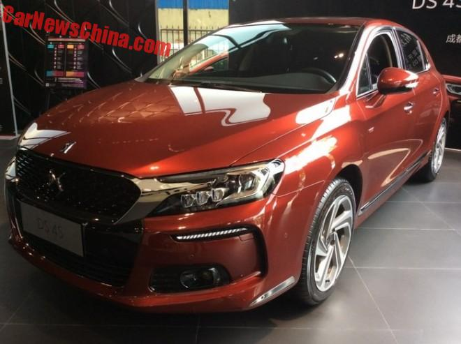 Citroen DS 4S arrives at the Dealer in China
