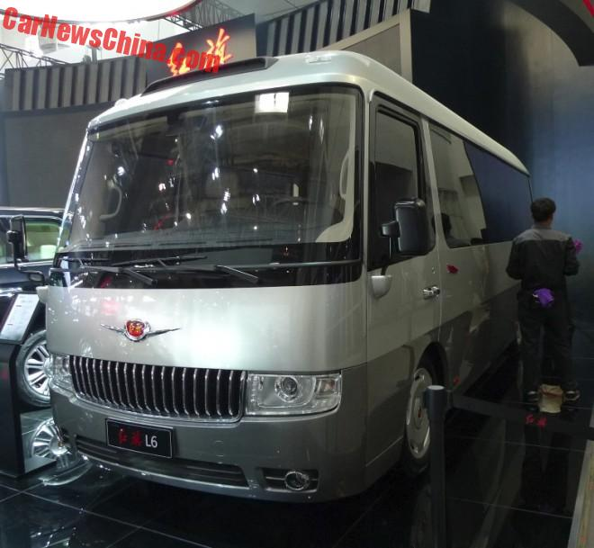 Hongqi goes Back into the Bus Business on the Beijing Auto Show