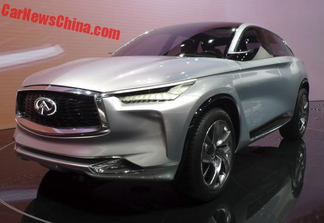 Infiniti QX Sport Inspiration SUV Concept Unveiled On The Beijing Auto Show