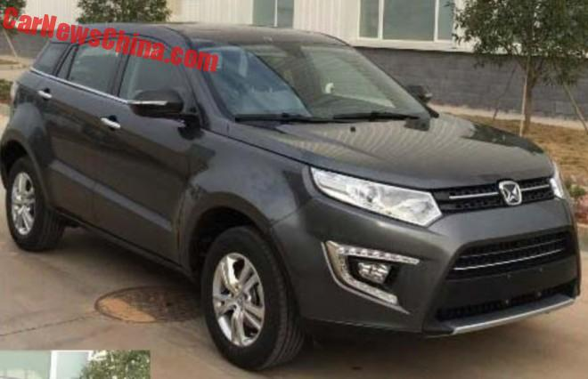 Spy Shots: Jiangling Yusheng S330 SUV is Almost Ready for China