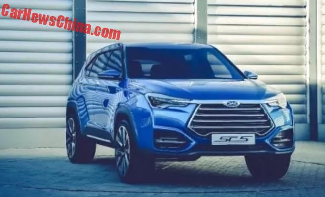 Officially Official: the JAC SC-5 concept SUV for the Beijing Auto Show
