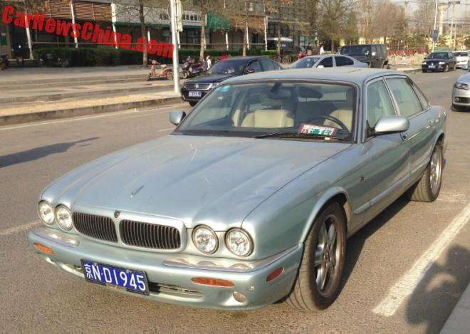 Spotted in China: Jaguar XJ Sport V8