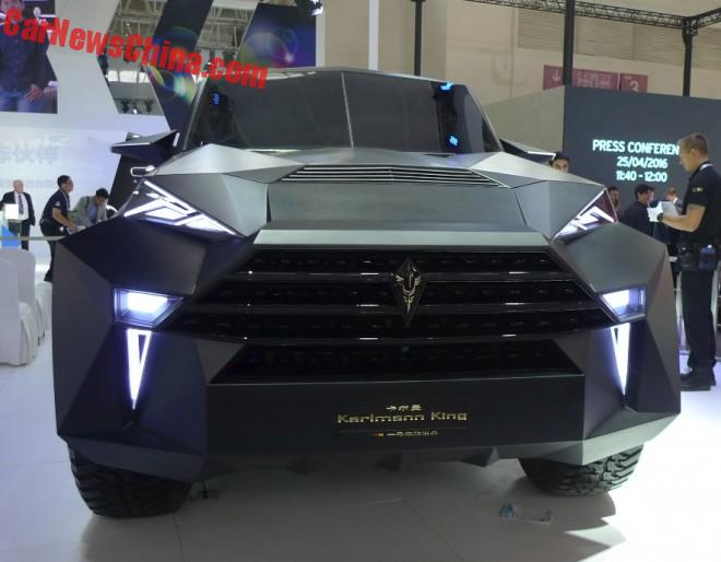 Karlmann King mega SUV debuts on the Beijing Auto Show