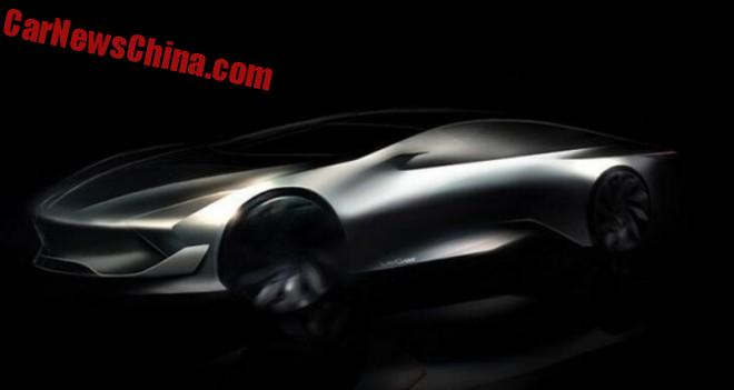 New Car Brand from China: LeSee, with an Electric Supercar