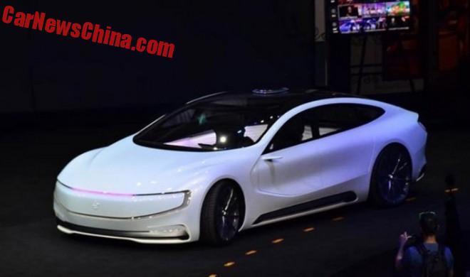 The LeSee EV sedan is China's latest Tesla beater