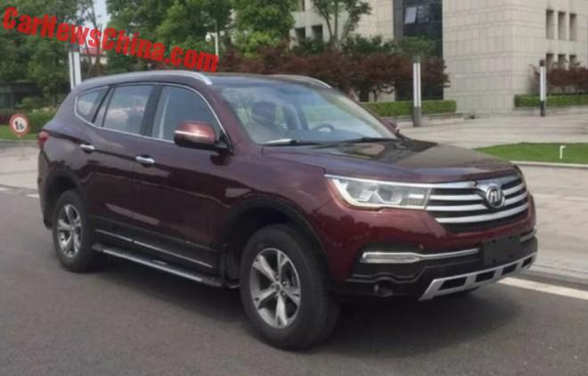 Spy Shots: Lifan X80 SUV is Ready for the Beijing Auto Show