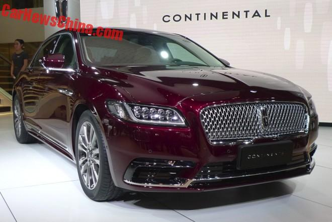 Lincoln Continental Launched On The Beijing Auto Show