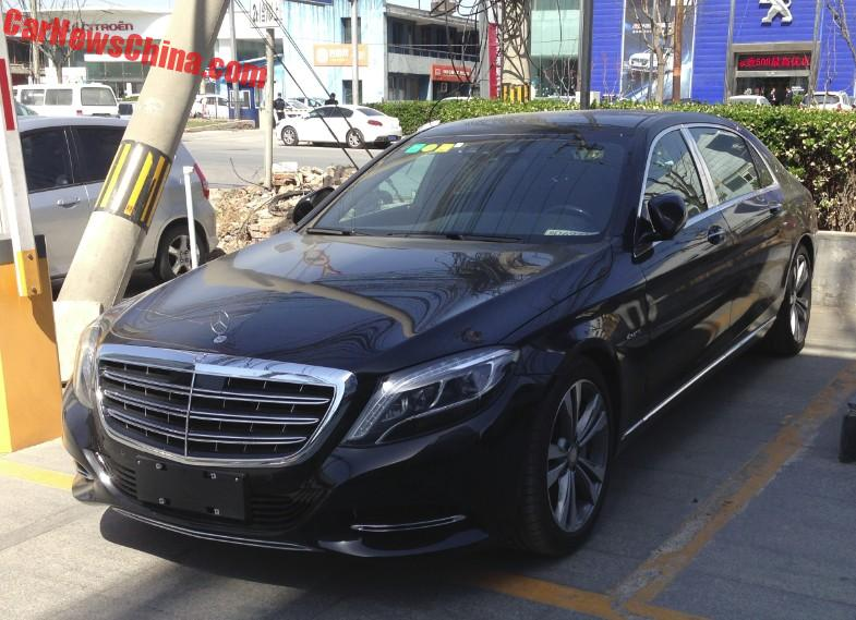 spotted in china: mercedes-maybach s400 4matic - carnewschina