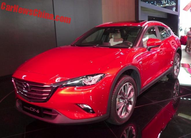 Mazda CX-4 launched on the Beijing Auto Show