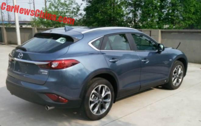 New Photos of the Mazda CX-4 for China