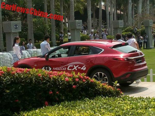mazda-cx4-red-china-3