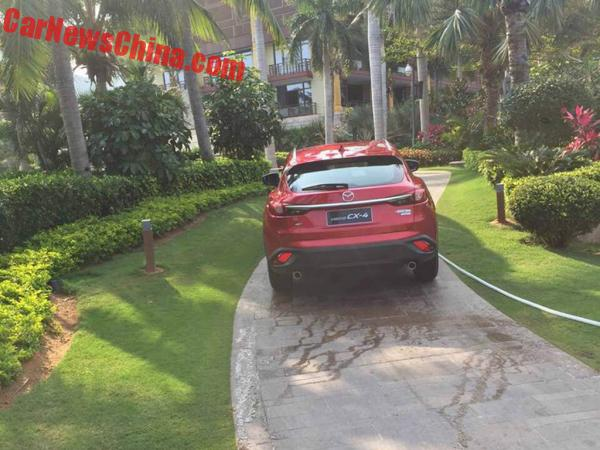 mazda-cx4-red-china-4