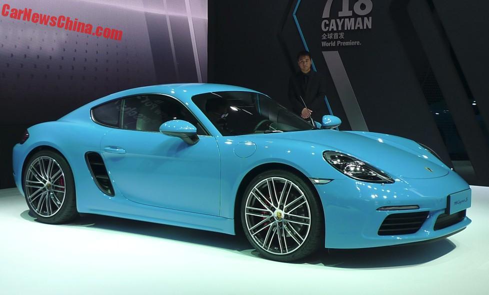 Porsche 718 Cayman China 6
