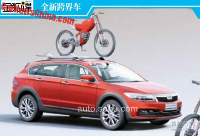 Spy Shots: Qoros 3 Estate crossover & Qoros 3 Sedan crossover