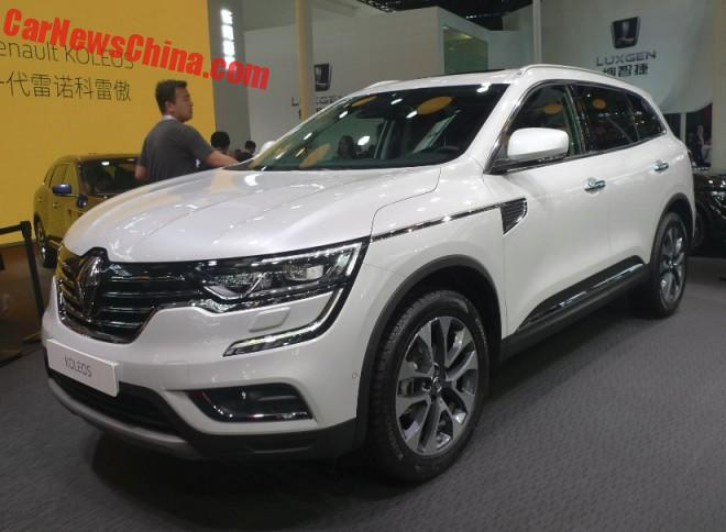 New Renault Koleos SUV launched on the Beijing Auto Show