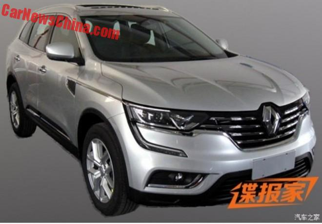 Spy Shots: the new Renault Koleos is Ready for the Beijing Auto Show