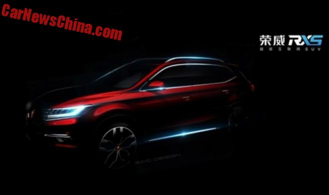 Roewe teases new RX5 SUV for China