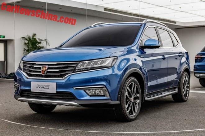 This is the new Roewe RX5 SUV from China
