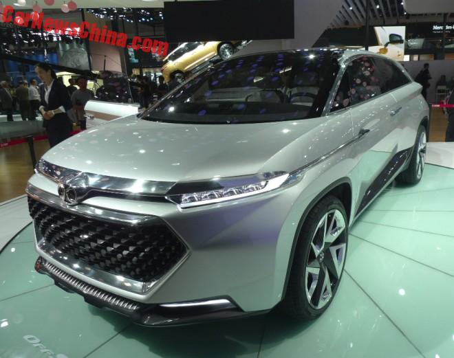 Beijing Auto Senova OffSpace Concept Debuts On The Beijing Auto Show