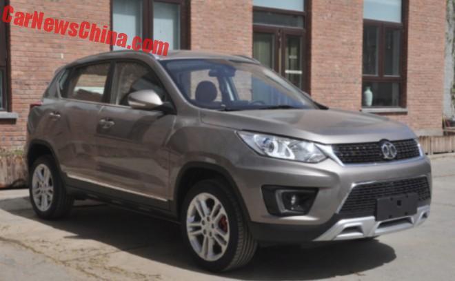 Spy Shots: the Beijing Auto Senova X35 SUV is Ready for China