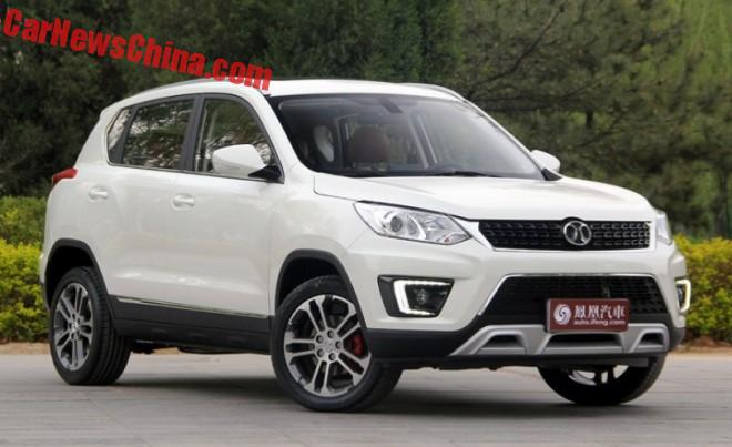 This is the new Beijing Auto Senova X35 for China