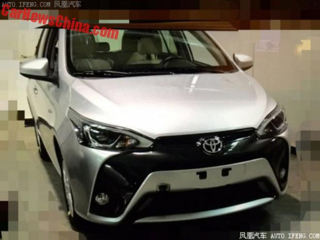 Spy Shots: facelift for the Toyota Yaris L in China