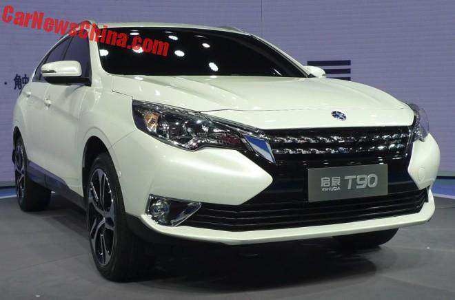 Venucia T90 Debuts On The Beijing Auto Show