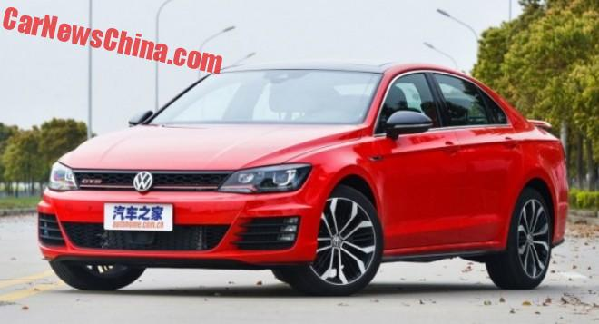 This is the Volkswagen Lamando GTS for China