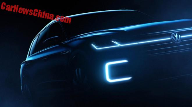 Volkswagen teases new SUV for the Beijing Auto Show