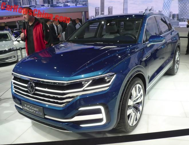 Volkswagen T-Prime Concept GTE debuts on the Beijing Auto Show
