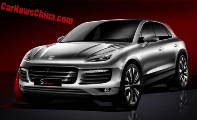 Official Images of the Zotye SR8 Porsche Macan clone from China