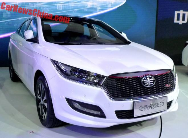 This Is The New FAW Besturn B50 For China