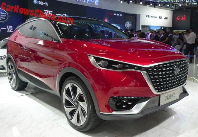 FAW Besturn X6 SUV Concept Debuts On The Beijing Auto Show