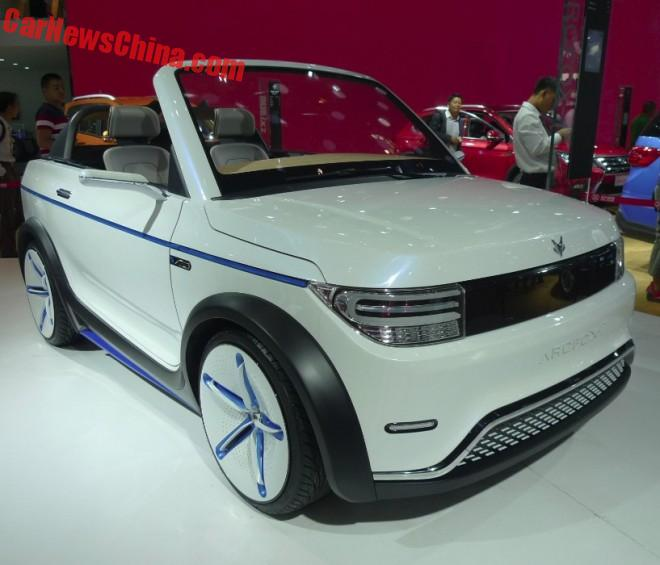This Is The Beijing Auto ArcFox-1 City Car Concept